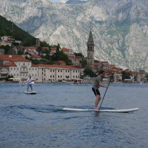 Paddling At Kotor Bay